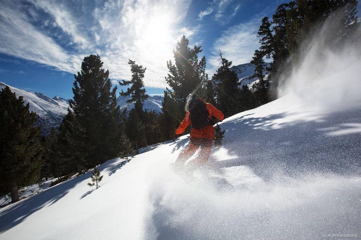 Livino elki - Ливиньо. Вставай на лыжи