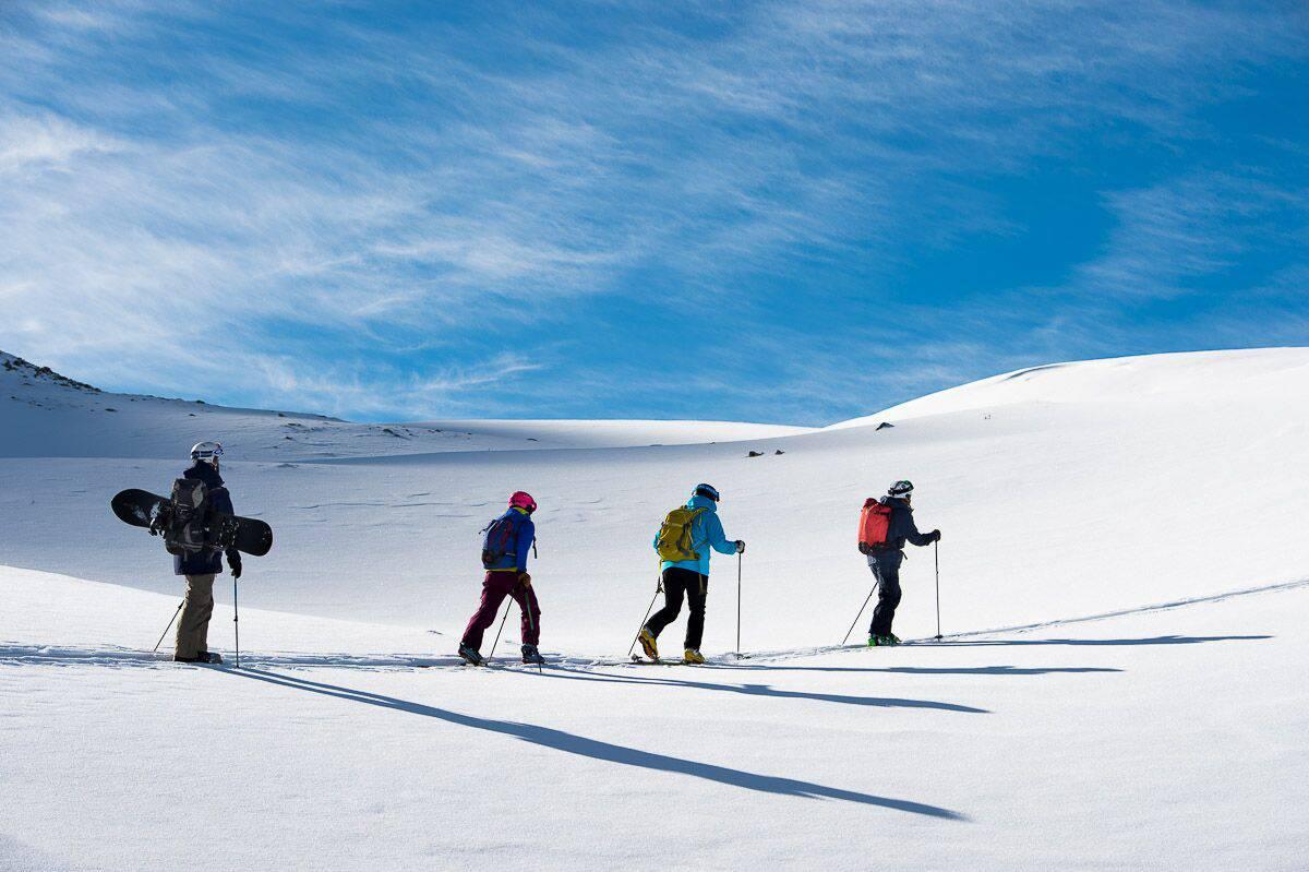 Livino idut - Ливиньо. Вставай на лыжи