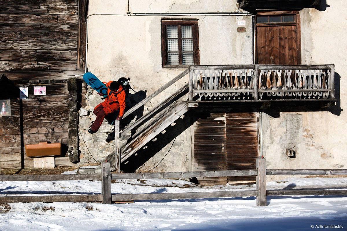 Livino start - Ливиньо. Вставай на лыжи
