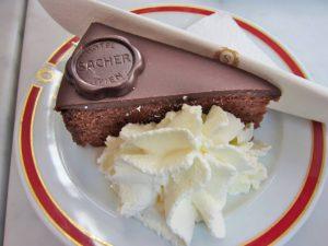 sacher torte 300x225 - Вена. Hotel Sacher
