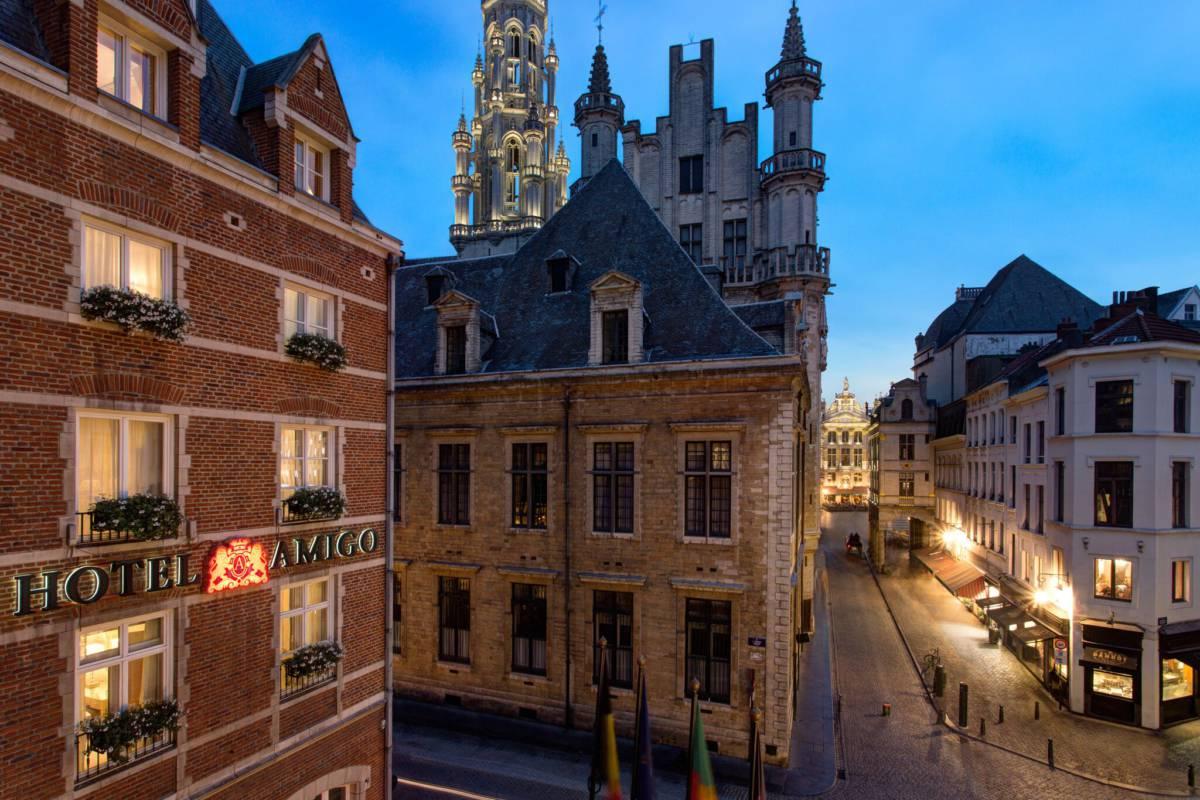 RFH Hotel Amigo   Facade 7143 JG Nov 16 preview - Брюссель. Самое актуальное