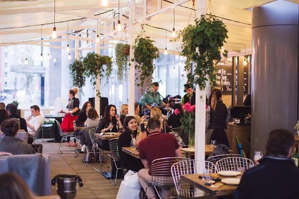 yuzhane veranda - Москва. Лучшие веранды ресторанов