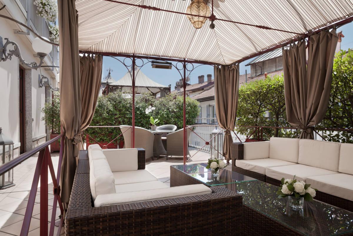 3Baglioni Hotel Carlton Montenapoleone Terrace SuitejDiegoDePol - Baglioni Hotel Carlton. Миланские каникулы