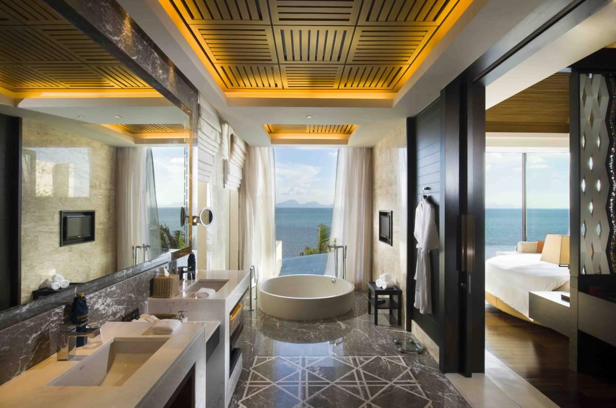 Conrad Koh Samui - Номера с красивыми ванными. Не душем единым