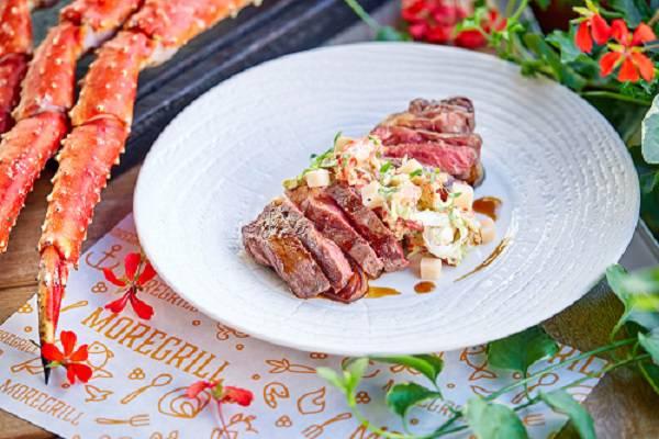Moregrill Steak New York krab - Вкус лета. Пробуем новое