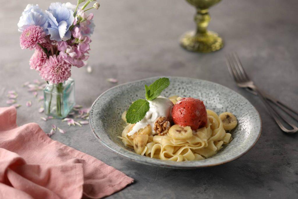 Pasta s dzhelato 1024x683 - Вкус лета. Пробуем новое