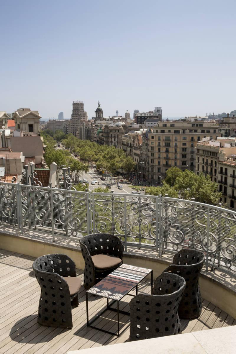Penthouse Paseo de Gracia Terrace MAjestic Hotel Barcelona - Барселона. Аутентичная кухня в Solc