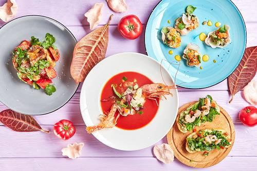 Rukkola Letnee menu - Вкус лета. Пробуем новое