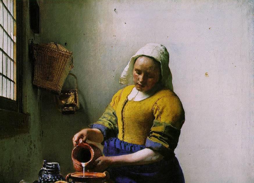 Vermeer   a leitira - Амстердам. Праздник непослушания