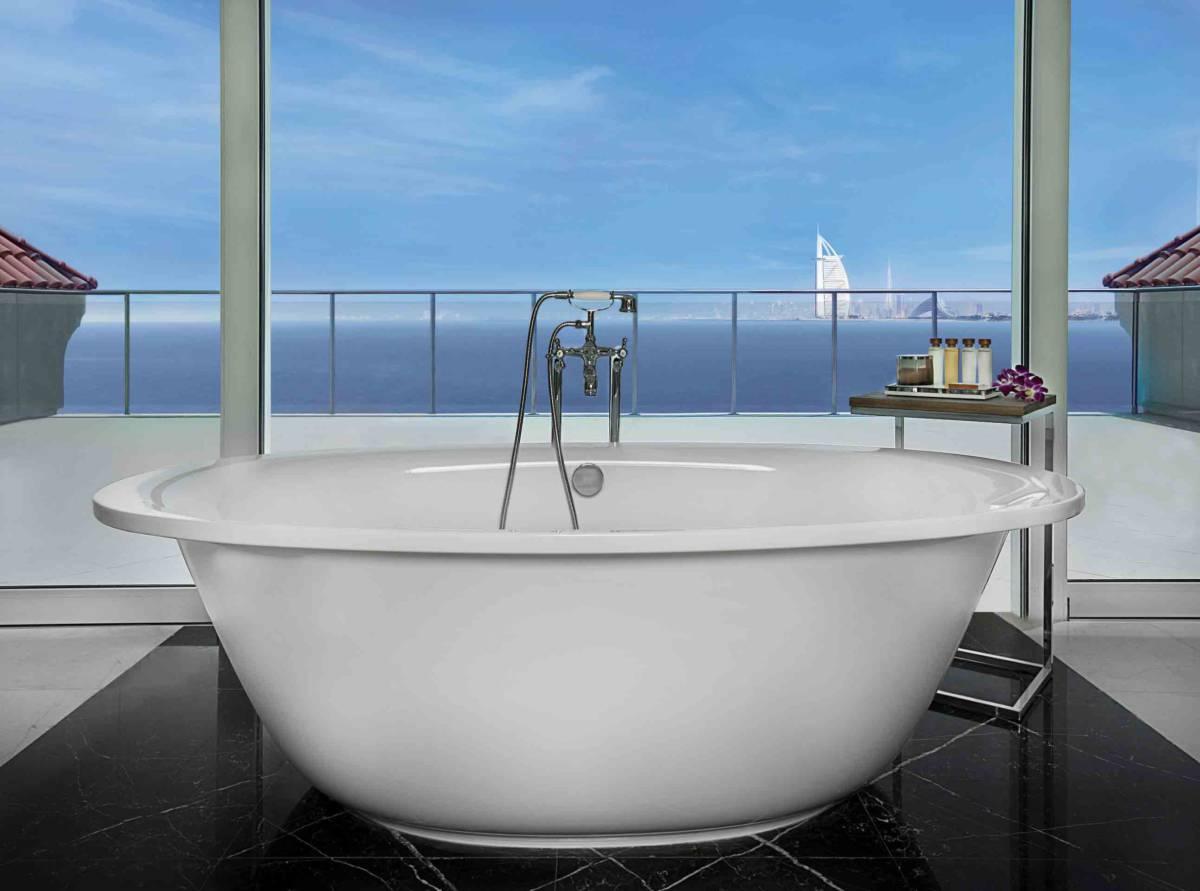 Waldorf Astoria Dubai  - Номера с красивыми ванными. Не душем единым