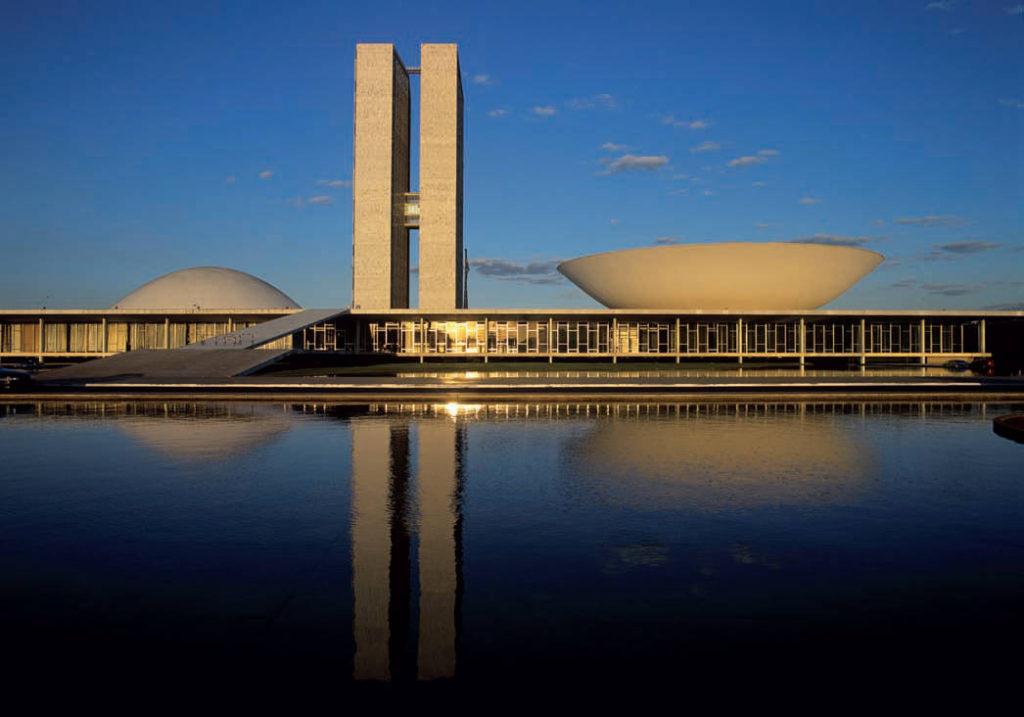 Бразилиа. Национальный конгресс.