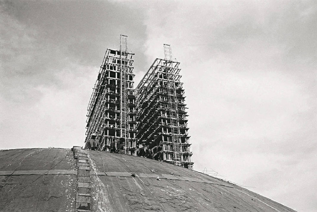 Строительство Дворца Национального конгресса