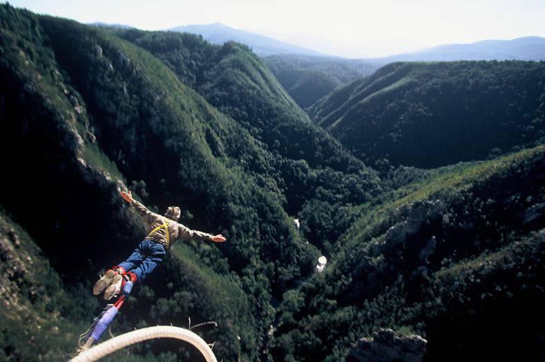 bungee jump bloukrans bridge south africa1 - ЮАР. Гарден Рут