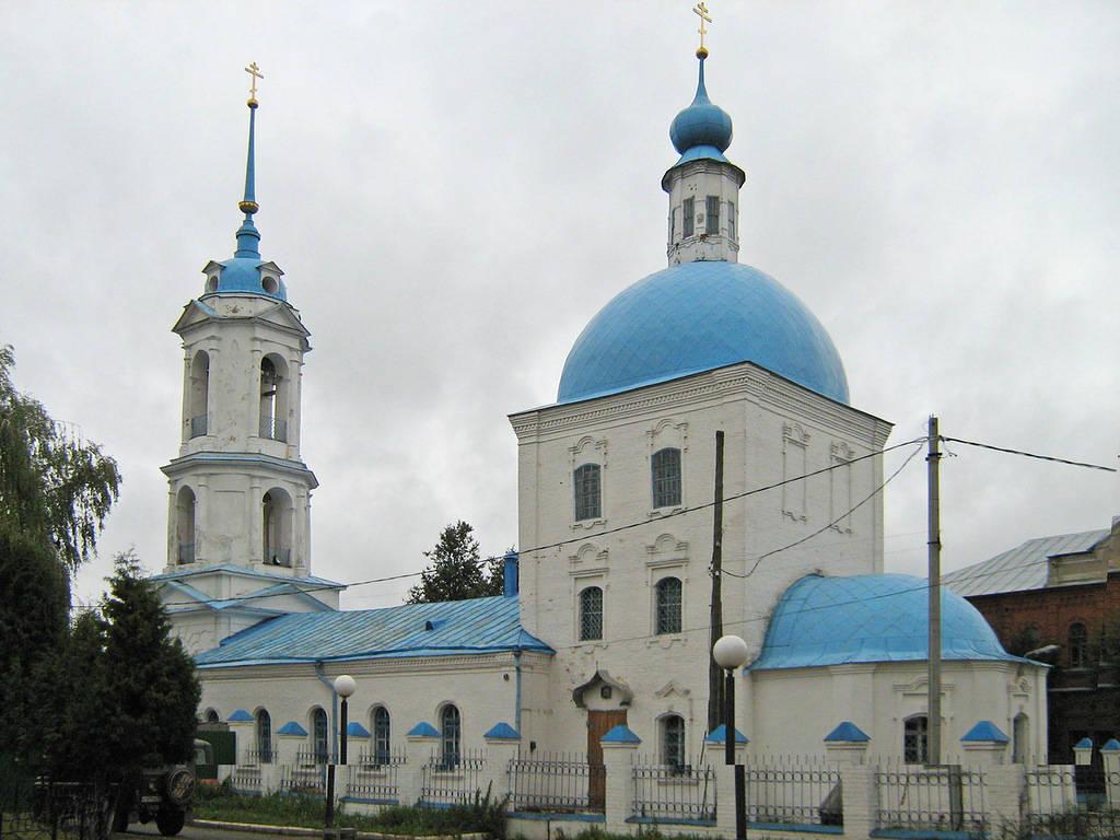 ilinjskij hram zarajsk - Зарайск. Не только огурцы