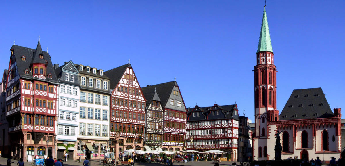 Roemerplatz - Франкфурт. Никакого бизнеса, только личное