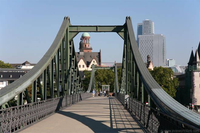 eiserner steg frankfurt - Франкфурт. Никакого бизнеса, только личное