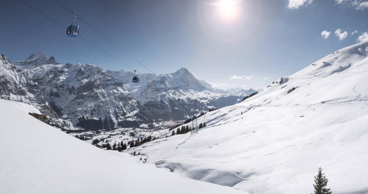 Grindelwald First Winter - Андерматт и Седрун. Вместе навек