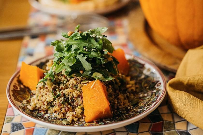 pumpkin salad kinoa - Лекарство от хандры