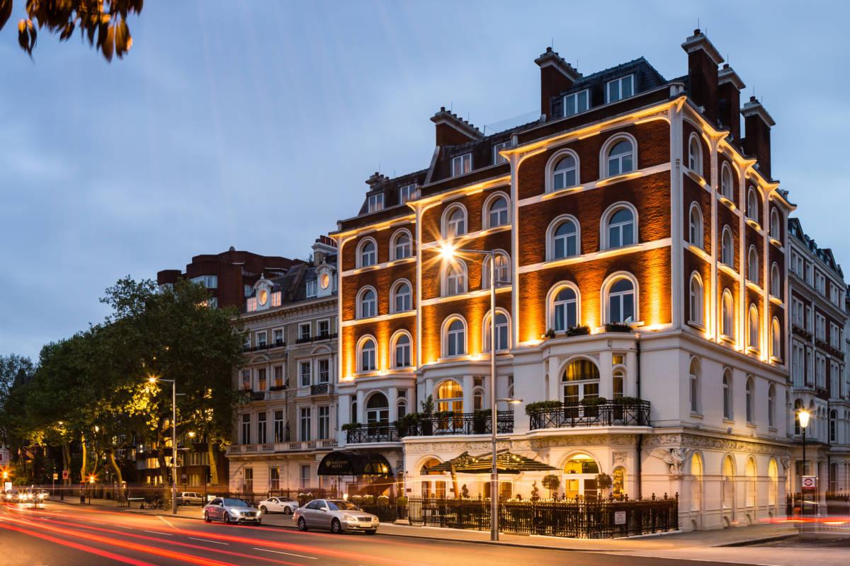 Baglioni Hotel London exterior  DiegoDePol 2 - Лондон. Экскурсия на Mini Cooper