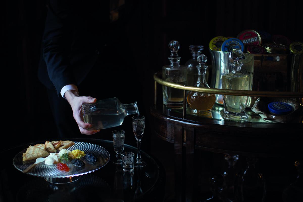 Caviar Bar 2017 by Helen s - Санкт-Петербург. Гранд Отель Европа
