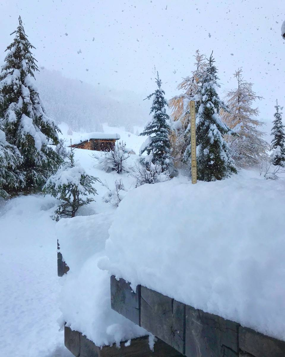 Snowfall Livigno 27 10 18 3105 - Ливиньо. Вставай на лыжи