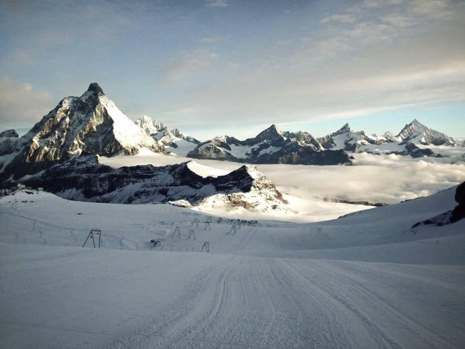 Sommerski 14 - Швейцария. Рекорды Церматта