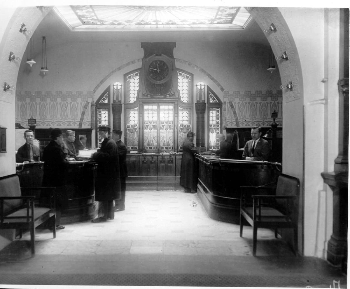 old reception - Санкт-Петербург. Гранд Отель Европа