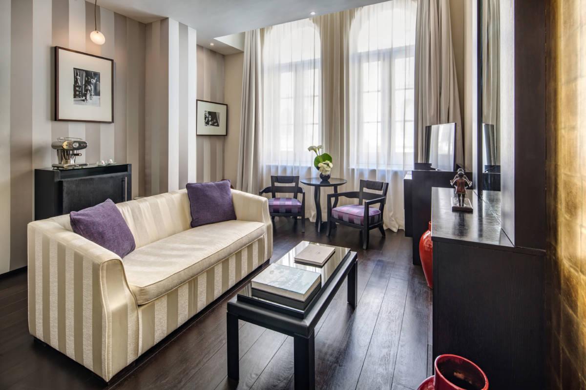 Baglioni Hotel London De Vere Suite Living - Baglioni Hotel London. Британская зима с итальянским акцентом