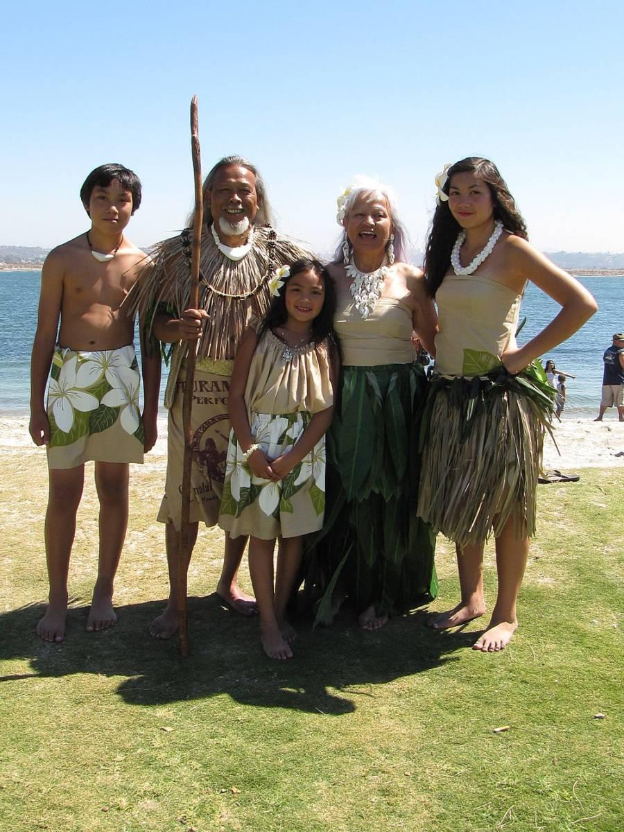 1000px Chamorro performers - Северные Марианские острова. Вечное лето