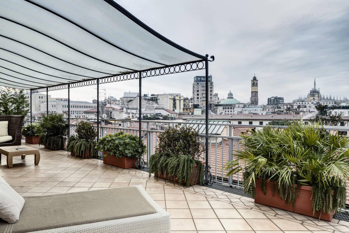 2Baglioni HotelMilano Grand Deluxe Terrace DiegoDePol - Милан. Памяти Леонардо
