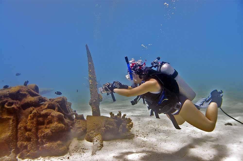 Aichi E13A Photo by Valeo Films 6 - Северные Марианские острова. Вечное лето
