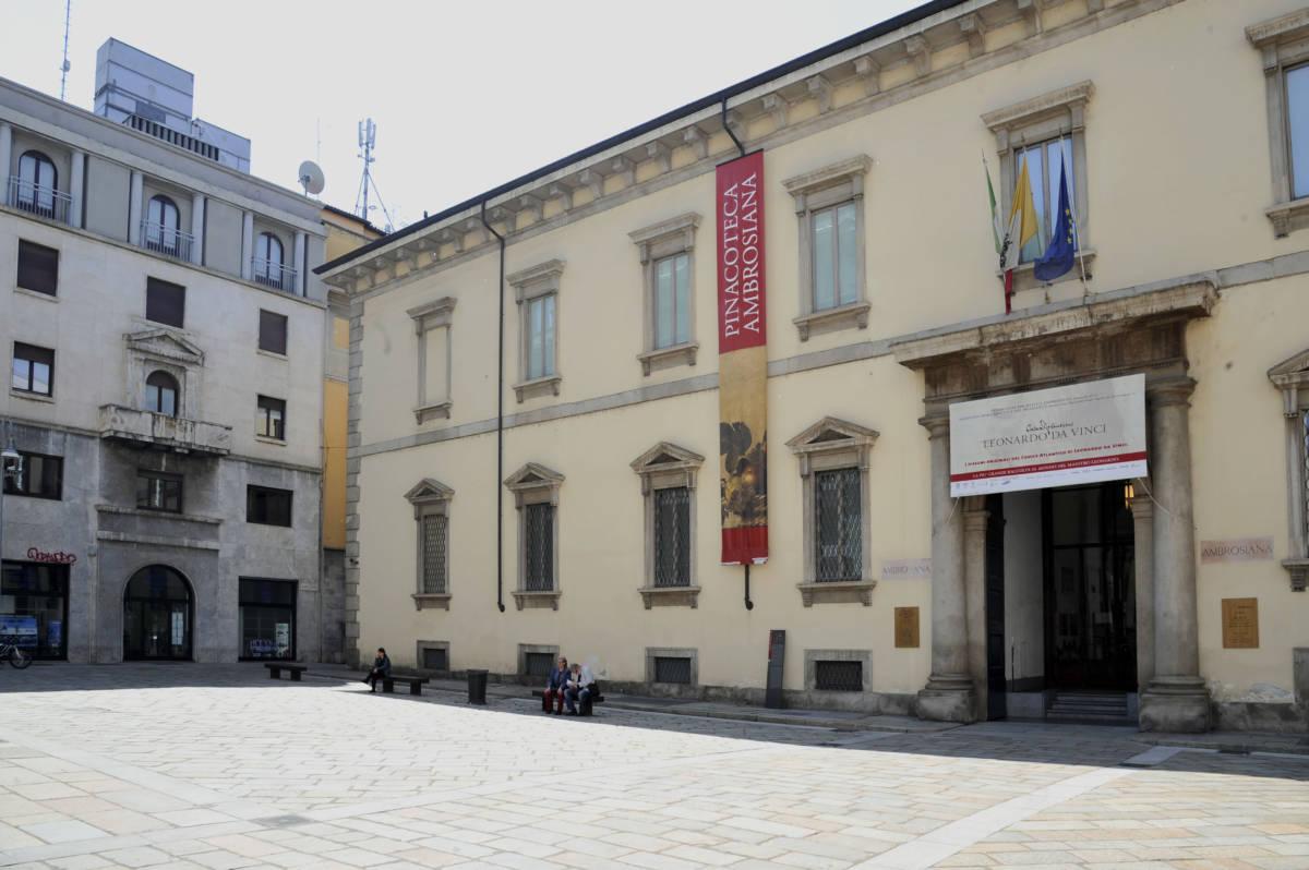 pinacoteca ambrosiana milan 7 - Милан. Памяти Леонардо