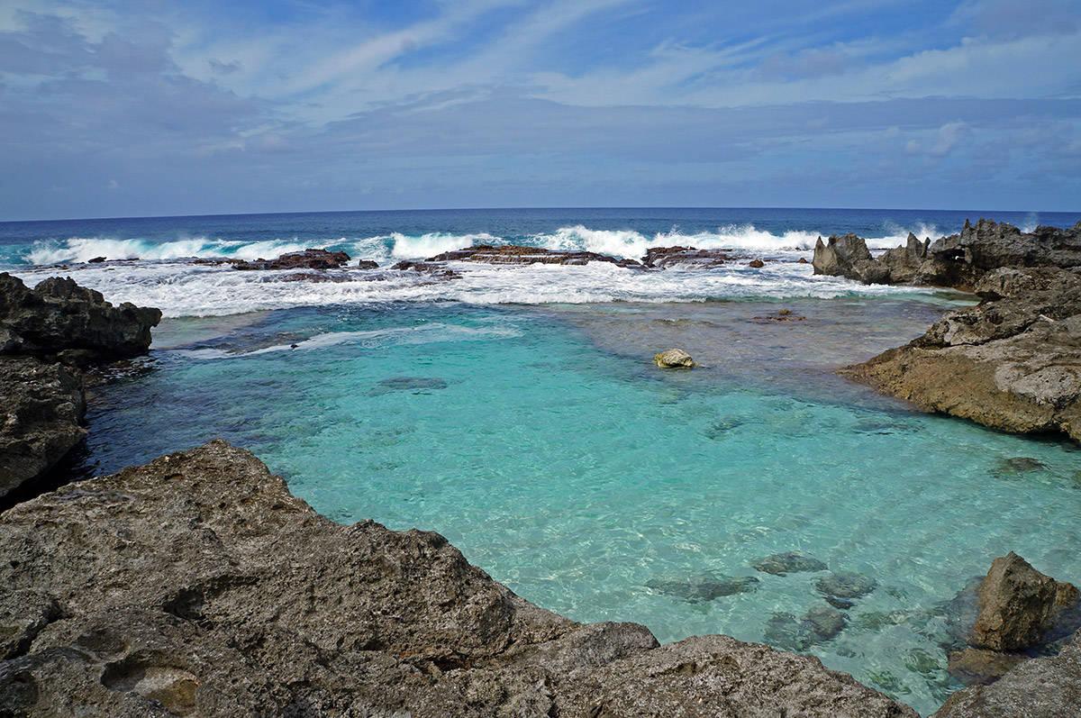 rota swimming hole 1 - Северные Марианские острова. Вечное лето