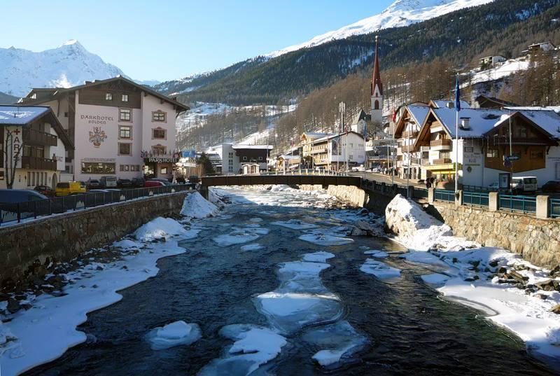 mountain skiing Austria solden  6 - Зёльден. Навострить лыжи