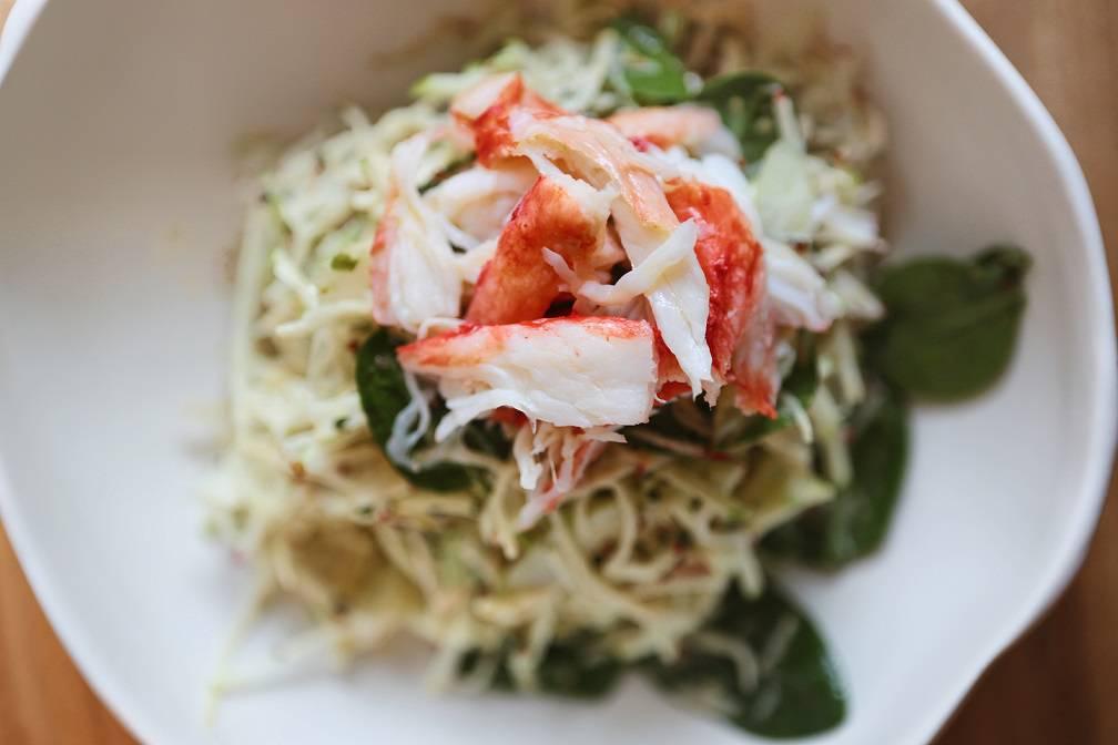 Crab celery salad2 Margarita - Весне навстречу