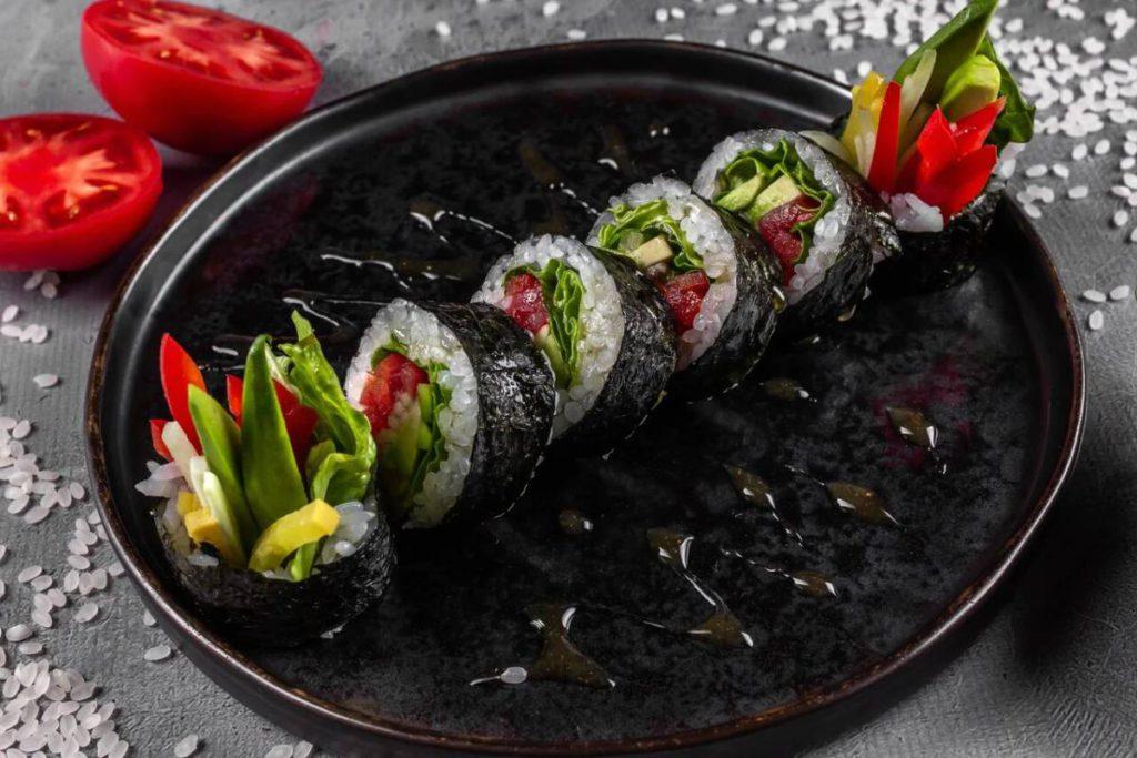 Oishii roll ovoshchnoj 1 1024x683 - Великий пост. Где пробовать правильные блюда
