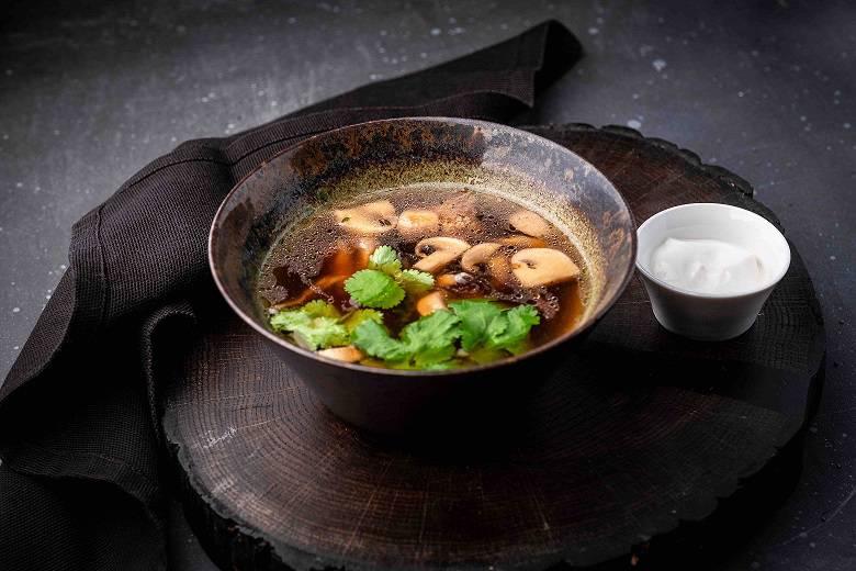 gribnoj sup - Великий пост. Где пробовать правильные блюда