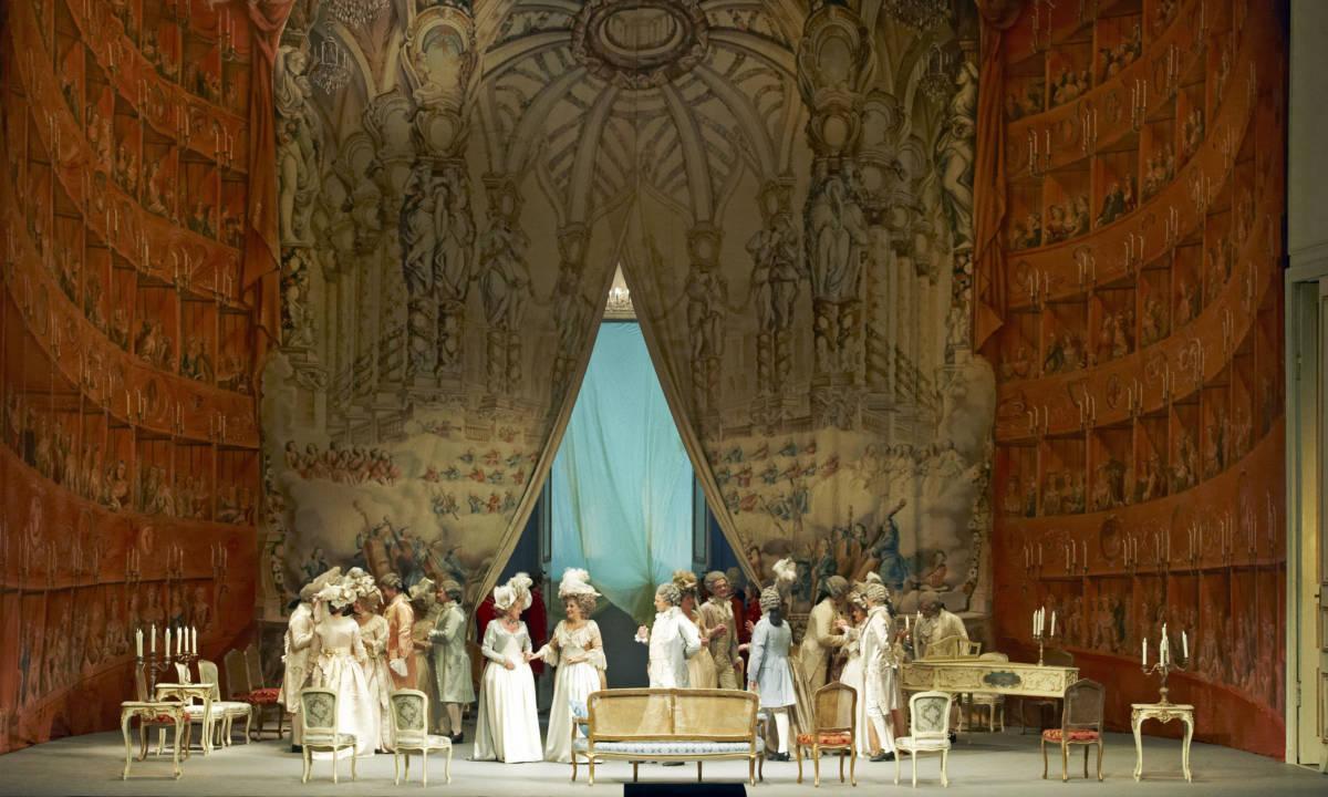 "3 Andre SHene Wiener StaatsoperMichael Poehn - Парк ""Зарядье"". Венская опера в Москве"