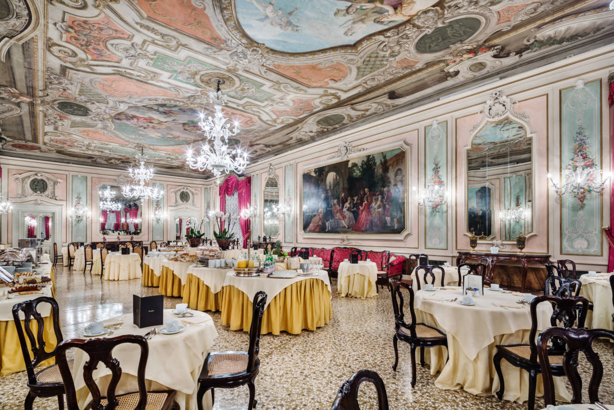 3 Baglioni Hotel Luna Marco Polo Ballroom - Венеция. Вид с лагуны