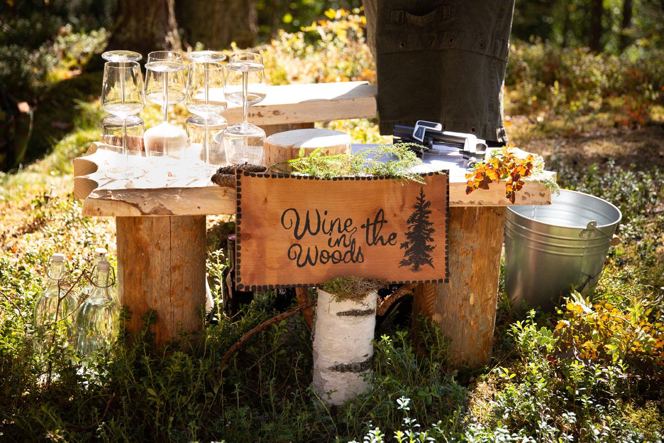 Wine in the woods - Финляндия. Идите лесом!