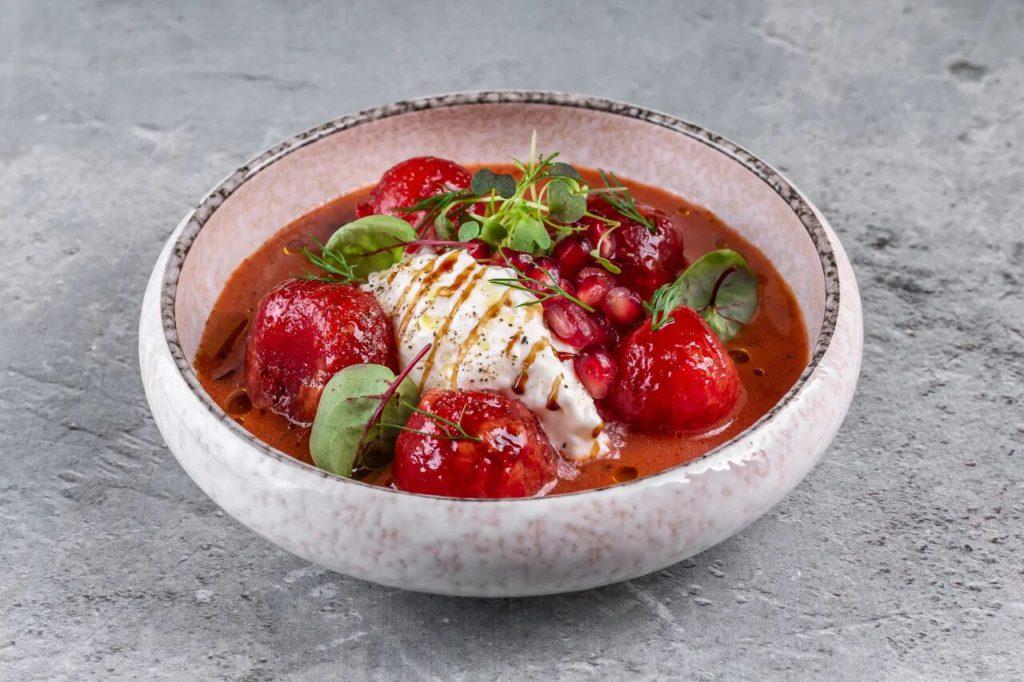 tomaty v aziatskom stile so strachatelloj1 1024x682 - Москва. Летнее обновление