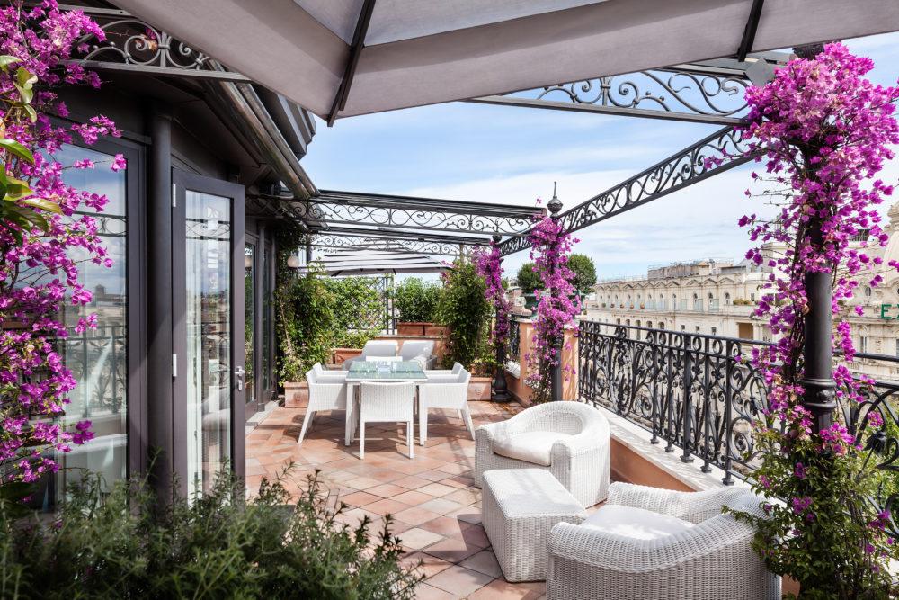 Roman Penthouse Terrace Baglioni Hotel Regina e1562144770404 - Рим. Baglioni Hotel Regina
