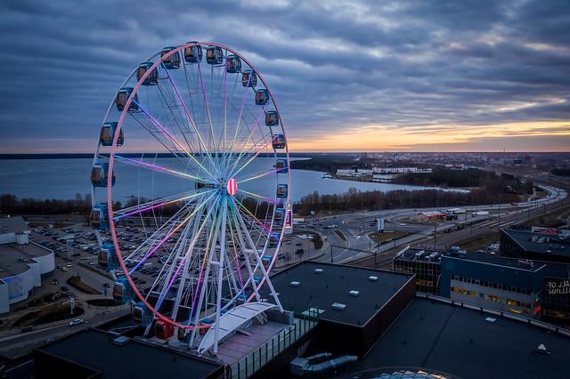 Skywheel - Эстония. Странные места