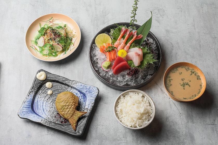 sashimi set min - Июль.Что пробовать в московских ресторанах