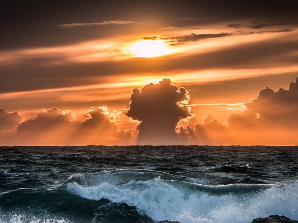 nastol.com .ua 112890 - Conrad Maldives. Океан будет чистым
