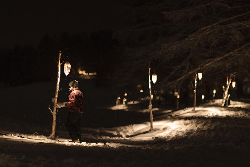 161 - Кран-Монтана. Фестиваль зимних огней