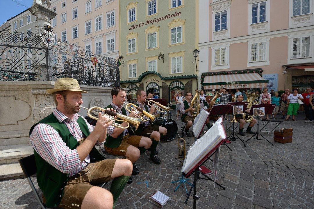 Blasmusik - Зальцбург. Выходные в стиле барокко