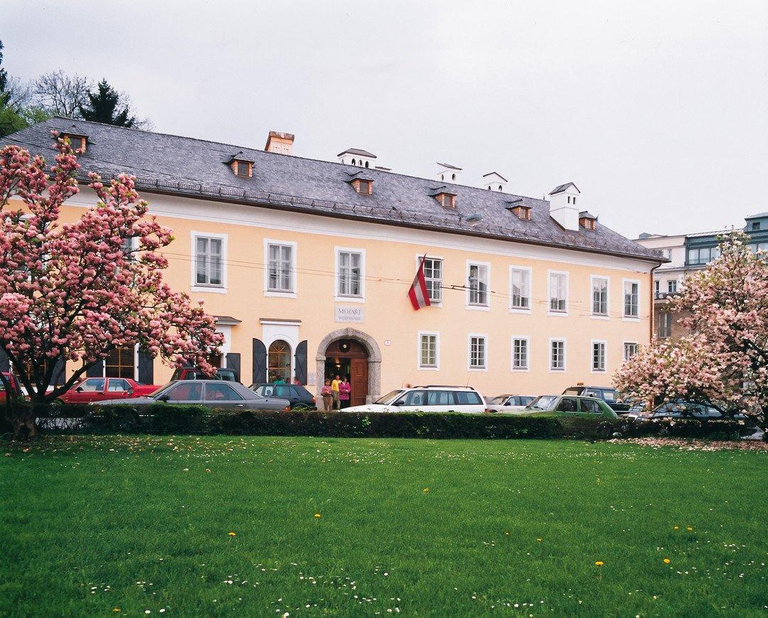Mozart Wohnhaus - Зальцбург. Выходные в стиле барокко