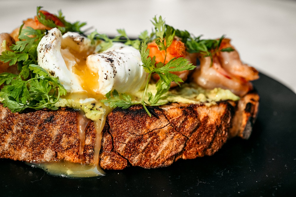 Saint salmon bruskettaKrevetki  - Вкусные завтраки этой осени