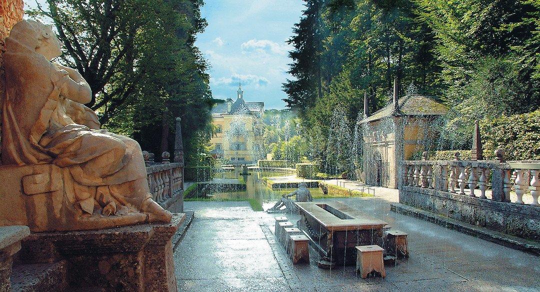Schloss Hellbrunn - Зальцбург. Выходные в стиле барокко